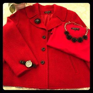 Jones NY wool tweed jacket